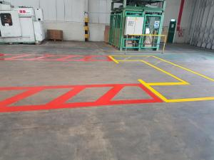 Safety lines to Dispatch store Crown packaging Wisbech (2)